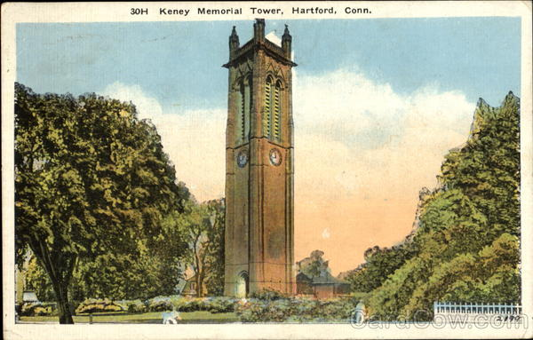 Keney Memorial Tower Hartford Connecticut