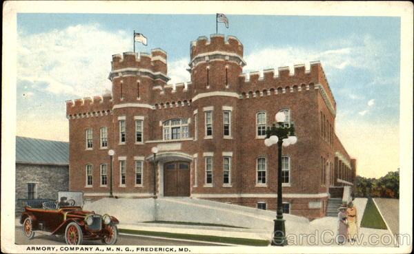 Armory Company A. M. N. G Frederick Maryland
