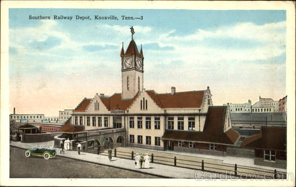 Southern Railway Depot Knoxville Tennessee