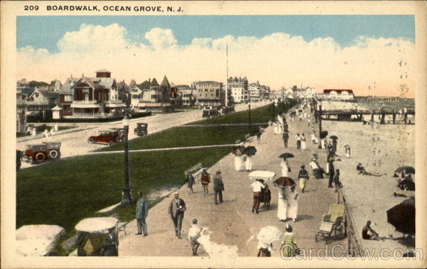Boardwalk Ocean Grove New Jersey