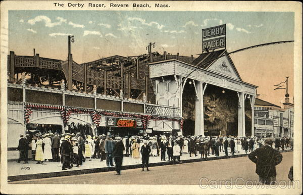 The Derby Racer Revere Beach Massachusetts