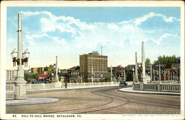 Hill To Hill Bridge Bethlehem Pennsylvania