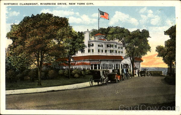 Historic Claremont, Riverside Drive New York City