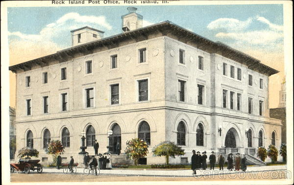 Rock Island Post Office Illinois
