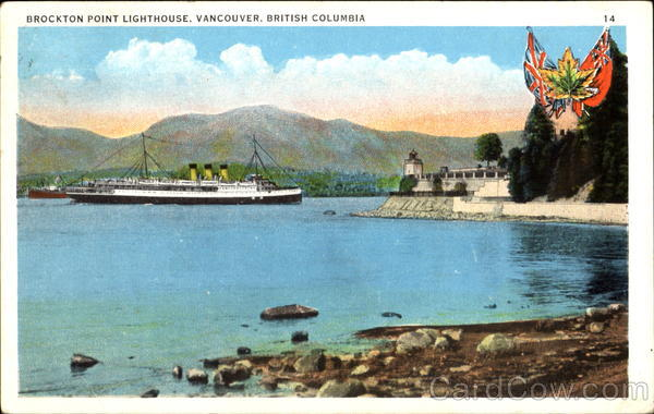 Brockton Point Lighthouse Vancouver Canada British Columbia