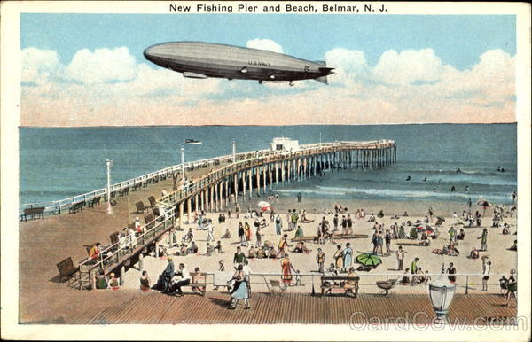 New fishing pier and beach belmar nj for Belmar nj fishing