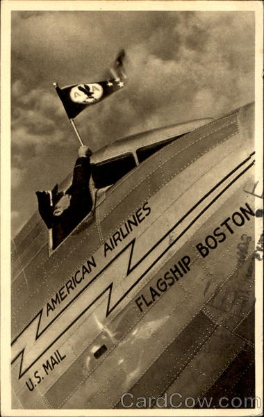The Flag - American Airlines Aircraft