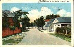 Main Street From Nelson House