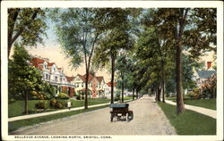 Bellevue Avenue Looking North