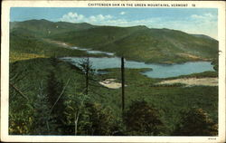 Chittenden Dam In The Green Mountains