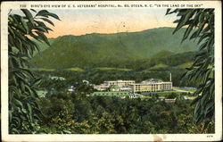 Bird's Eye View Of U. S. Veterans Hospital