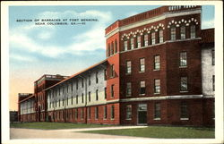 Section Of Barracks At Fort Benning