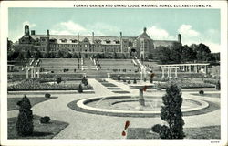 Formal Garden And Grand Lodge, Masonic Homes