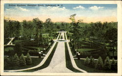 Italian Gardens, Georgian Court