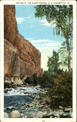 The Dells Ten Sleep Canyon, U. S. Highway No. 16