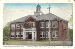 Farmington High School Postcard