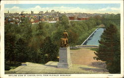 Skyline View Of Canton From McKinley Monument