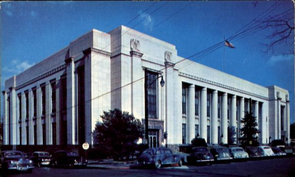 United States Post Office And Courthouse Knoxville Tennessee