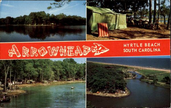 Lake Arrowhead Campground Myrtle Beach