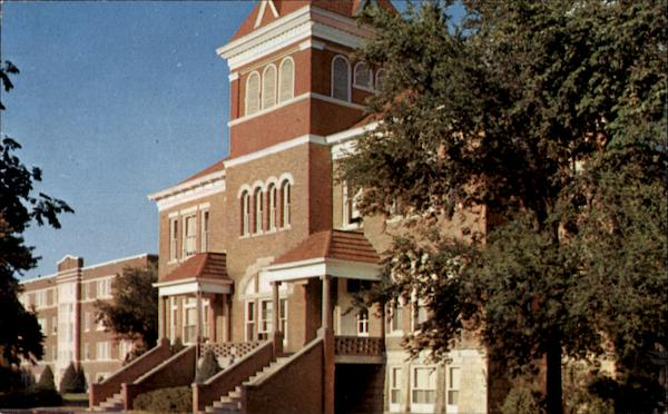 Administration Building, McPherson College Kansas