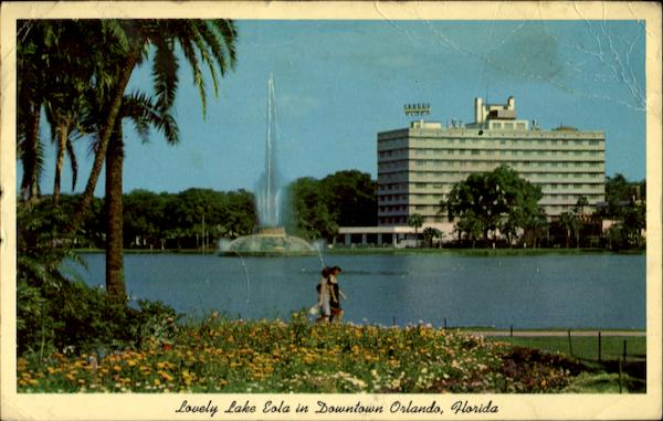 Lovely Lake Eola In Downtown Orlando Florida