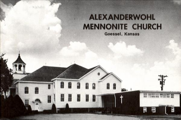 Alexanderwohl Mennonite Church Goessel Kansas