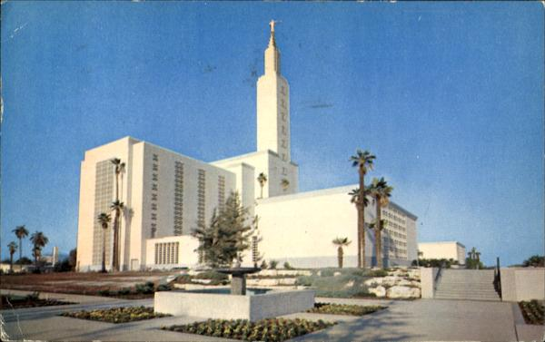 Church Of Jesus Christ Latter Day Saints Los Angeles California