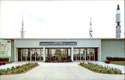 Entrance To Visitors Information Center, Kennedy Space Center