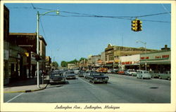 Looking West On Ludington Ave.