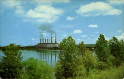 New Johnsonville Steam Plant Postcard