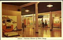 Interior View Of American Museum Of Atomic Energy