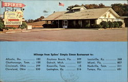 Spikes Restaurant, U. S. Highway 129 and 411