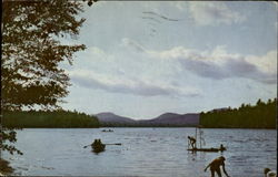 A Typical Summer's Day At Simon Pond Postcard