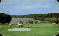Championship 18 Hole Golf Course Postcard