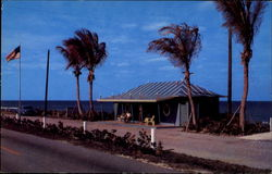 Palm Beach County Welcome Station, U. S. #1 Postcard