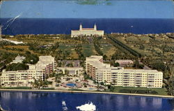 Palm Beach Towers Postcard