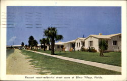Pleasant Resort Residential Street Scene At Ellinor Village