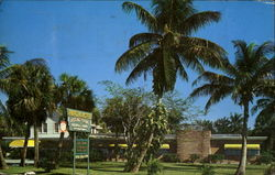 Tropical Acres, U. S. 1 Between Boynton and Delray Beach Postcard