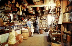 Mystic Seaport Interior Of The General Store