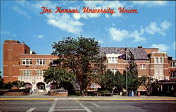 The Kansas University Union Postcard