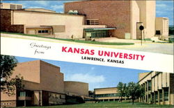 Greetings From Kansas University, Music and Dramatic Arts Building