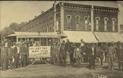 Mule Drawn Streetcars Carried Winfield Passengers