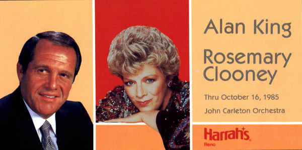 Alan King Rosemary Clooney Celebrities