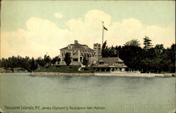 James Oliphant's Residence Neh-Mahdin Thousand Island Park New York
