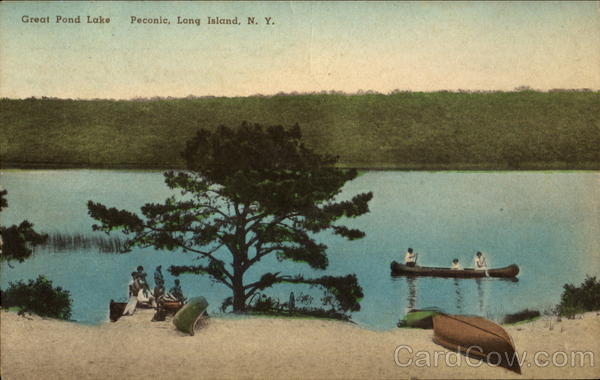 Great Pond Lake, Long Island Peconic New York