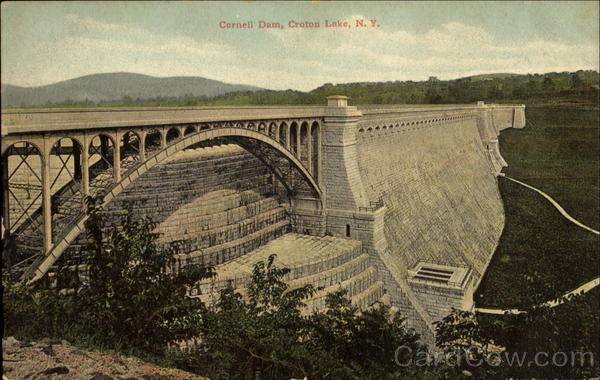Cornell Dam Croton Lake New York
