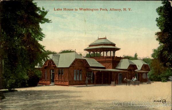 Lake House In Washington Park Albany Ny