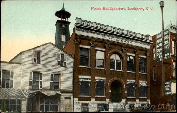 Police Headquarters Lockport New York