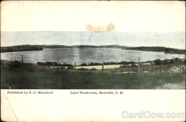 Lake Waukewan Meredith New Hampshire