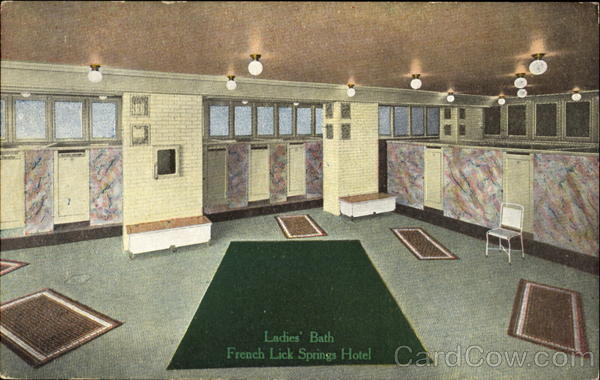 Ladies Bath French Lick Springs Hotel Indiana